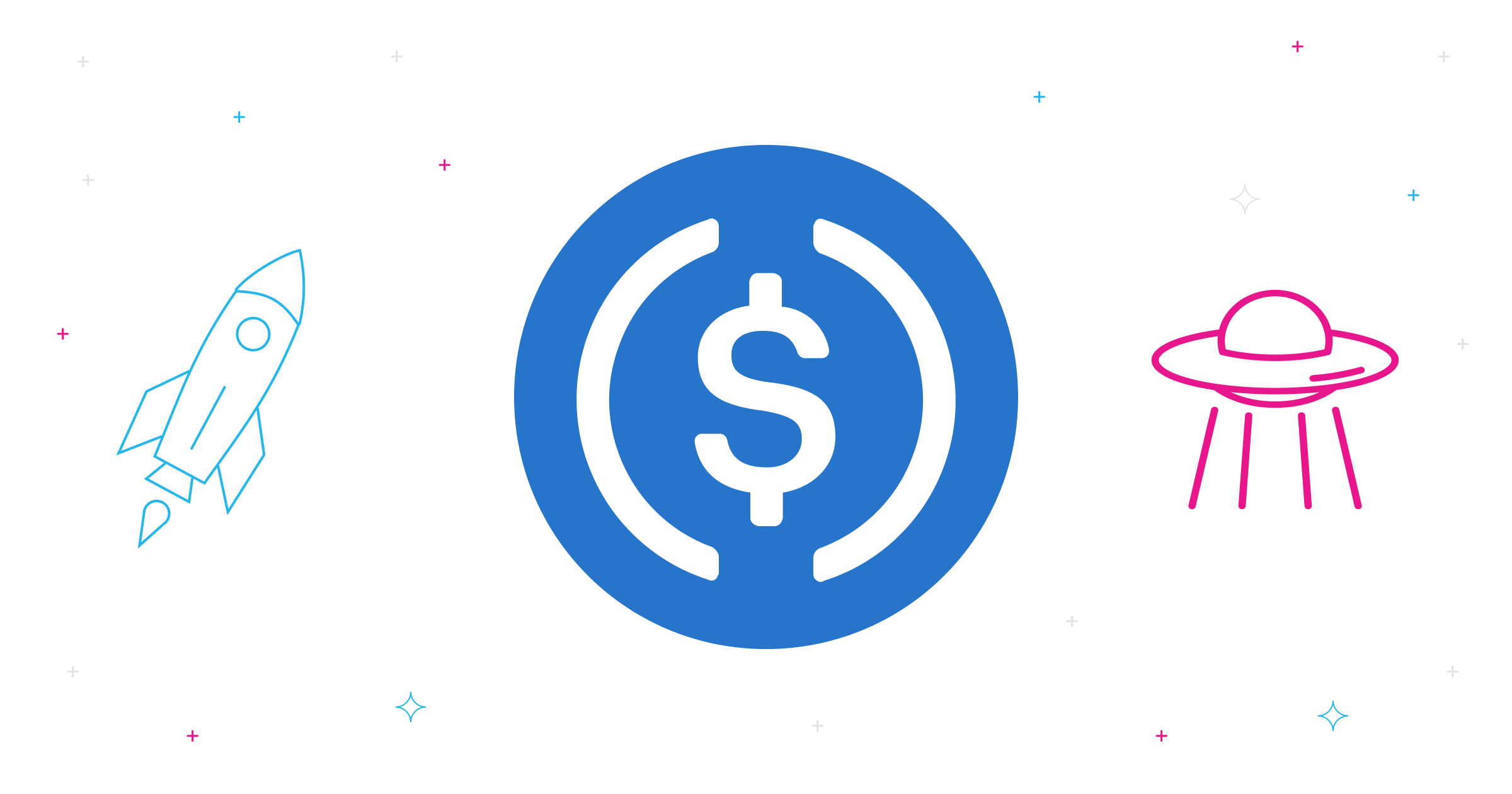 Exchange USDC at the best rate with a crypto exchange aggregator