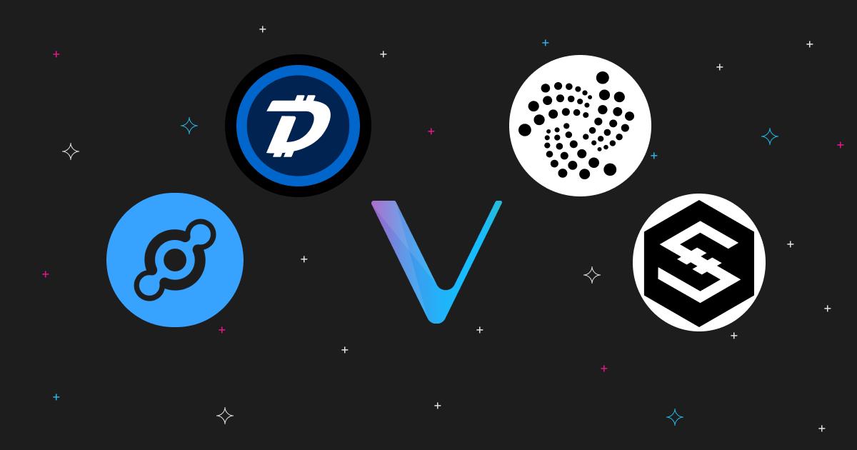 5 Internet of Things Cryptos: HNT, VET, IOTA, DGB, IOST
